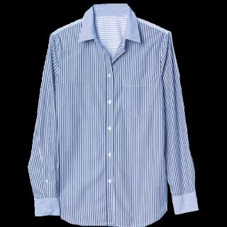 このコーデで使われているGAPのシャツ/ブラウス[ブルー/ホワイト]
