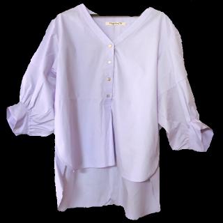 このコーデで使われているVingt Neuf 29のシャツ/ブラウス[パープル]