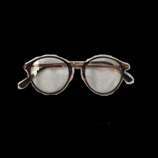 このコーデで使われているGUのメガネ[ブラウン]