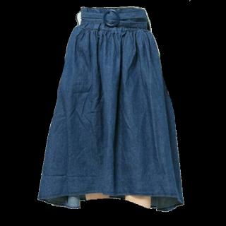 このコーデで使われているWEGOのスカート[ブルー]