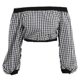 このコーデで使われているJILLSTUARTのシャツ/ブラウス[ブラック/ホワイト]