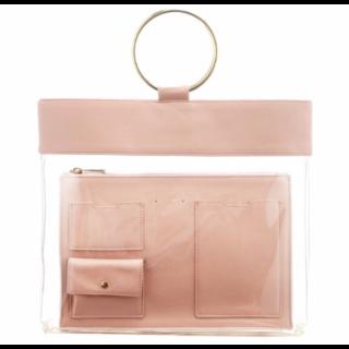 このコーデで使われているLagunaMoonのハンドバッグ[ピンク]
