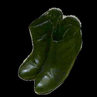 このコーデで使われているGUのブーツ[ブラック]