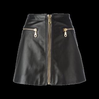 このコーデで使われているMSGMのミニスカート[ブラック]