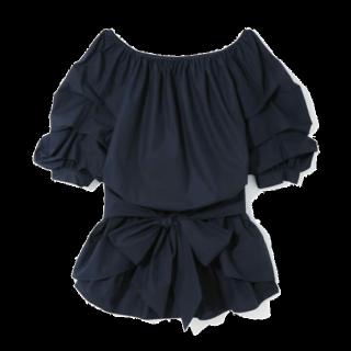 このコーデで使われているGRLのシャツ/ブラウス[ネイビー]