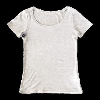 このコーデで使われているHERE'SのTシャツ/カットソー[グレー]
