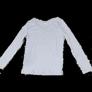 このコーデで使われているHONEYSのTシャツ/カットソー[ブルー]