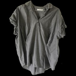 このコーデで使われているnico and...のシャツ/ブラウス[グレー]