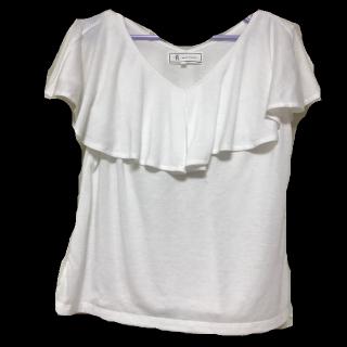 このコーデで使われているROPE' PICNICのTシャツ/カットソー[ホワイト]