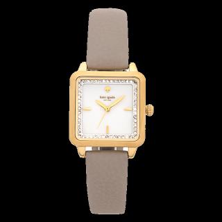 このコーデで使われているkate spadeの腕時計[グレー/ベージュ/ゴールド]