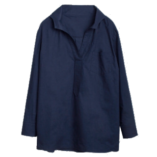 このコーデで使われているHONEYSのシャツ/ブラウス[ネイビー]