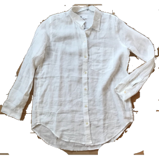 このコーデで使われているGAPのシャツ/ブラウス[ホワイト]