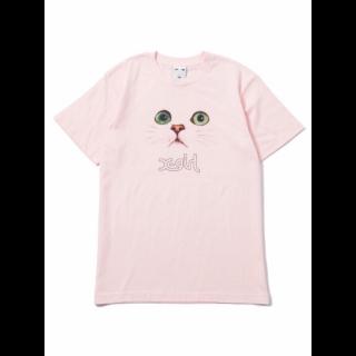 このコーデで使われているX-girlのTシャツ/カットソー[ピンク]