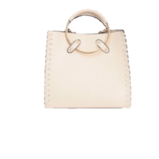 このコーデで使われているtitivateのハンドバッグ[ホワイト]