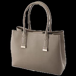 このコーデで使われているGUのハンドバッグ[グレー]