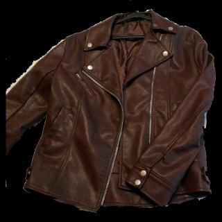 不明のライダースジャケット