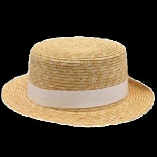 このコーデで使われている帽子[ベージュ]