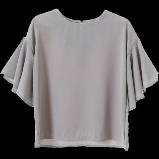 このコーデで使われているFIFTHのシャツ/ブラウス[グレー]