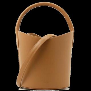 このコーデで使われているspick&spanのショルダーバッグ[キャメル]
