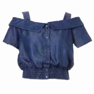 このコーデで使われているMURUAのシャツ/ブラウス[ネイビー]
