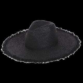 このコーデで使われているLagunaMoonの麦わら帽子[ブラック]