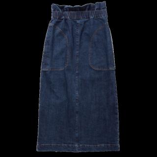 このコーデで使われているRay BEAMSのデニムスカート[ネイビー]