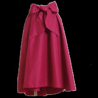 このコーデで使われているtoccoのスカート[ピンク]