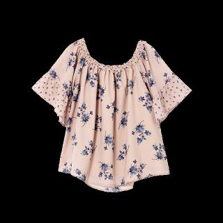 このコーデで使われているMERCURYDUOのシャツ/ブラウス[ピンク/その他/ネイビー]