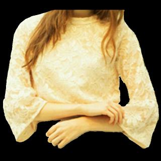 このコーデで使われているMIIAのシャツ/ブラウス[ベージュ]
